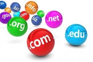 Domain Name Website Concept