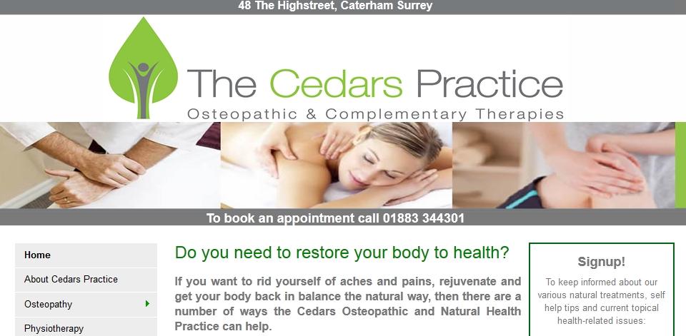 Cedars Practice